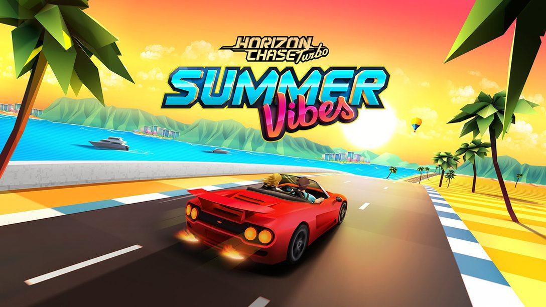 Summer Vibes, DLC de Horizon Chase Turbo, Chega Hoje