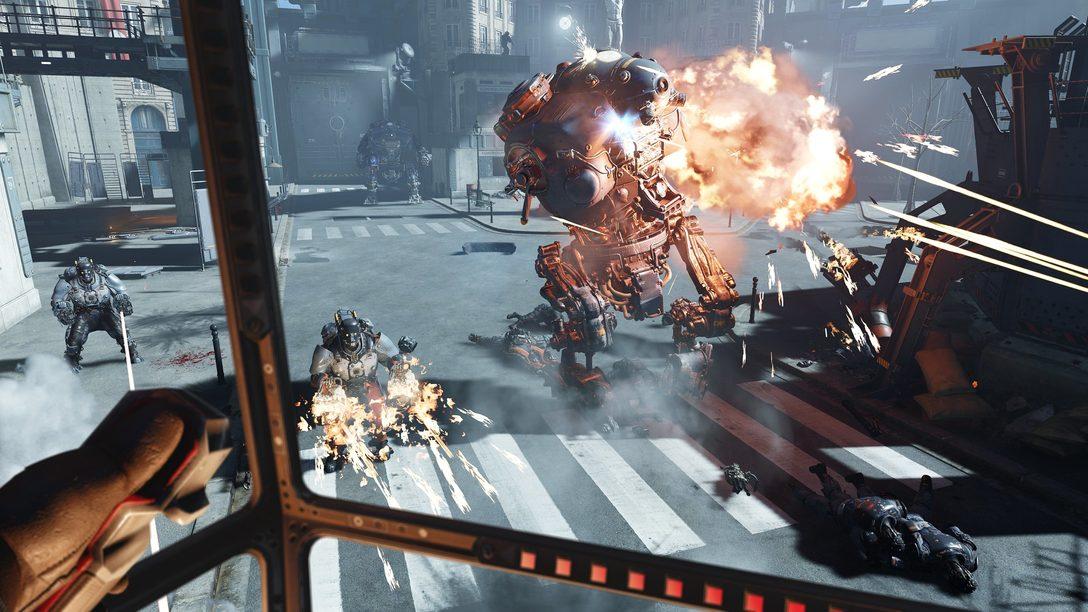 Seja um Hacker em Wolfenstein: Cyberpilot, Disponível Amanhã para PS VR