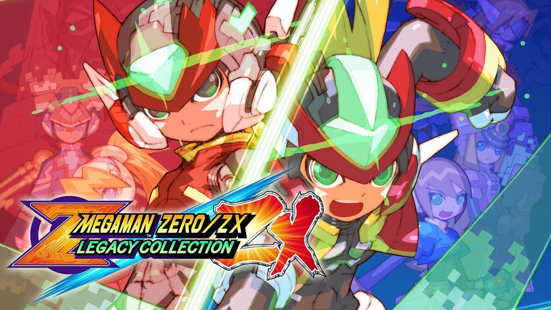 Mega Man Zero / ZX Legacy Collection Chega em Janeiro!
