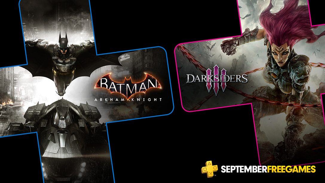 Jogos Gratuitos para PlayStation Plus de Setembro: Batman: Arkham Knight, Darksiders 3