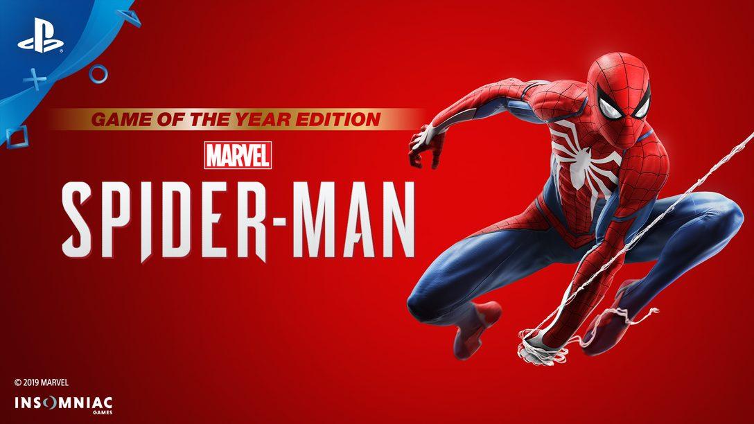 Marvel's Spider-Man: Game of the Year Edition Disponível Já