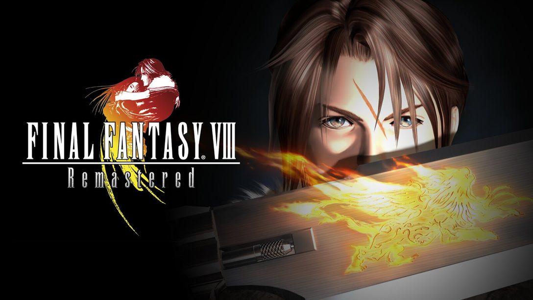 Final Fantasy VIII Remastered Chega em 3 de Setembro para PS4