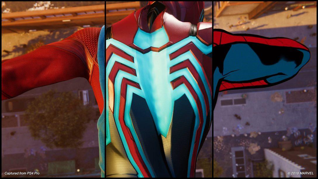 A História Secreta dos Trajes de Marvel's Spider-Man, Contada por Artistas da Insomniac