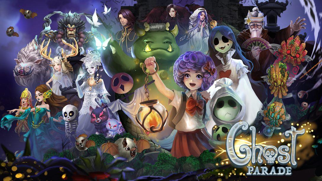 Ghost Parade Assombra o PS4 Neste Halloween!
