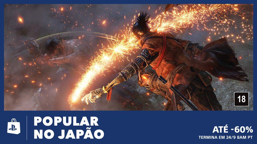A Promoção Popular no Japão da PS Store Traz Ofertas de Até 60%