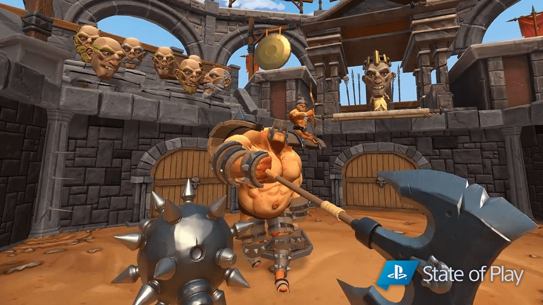 Gorn Chega ao PS VR no Final de 2019