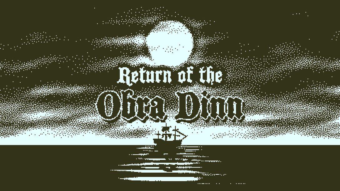 Return of the Obra Dinn – Aventuras em Um Bit, Disponível Amanhã