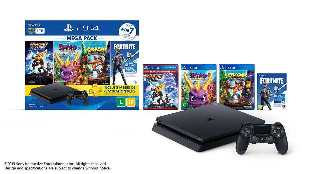 Novo PlayStation 4 Mega Pack Chega Este Mês