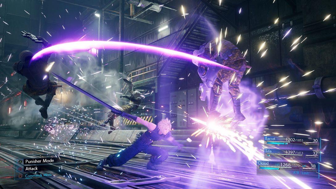 Novas Screenshots de Final Fantasy VII Remake Trazem Cloud, Combate e Mais