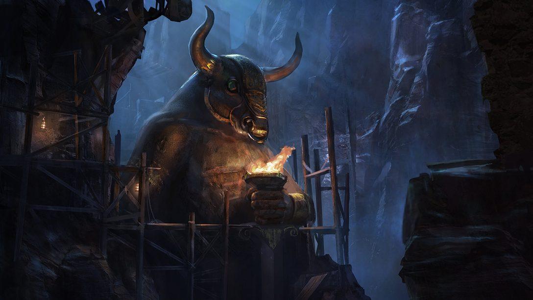 O Santa Monica Studio Comemora 20 Anos com Arte Conceitual da Série God of War