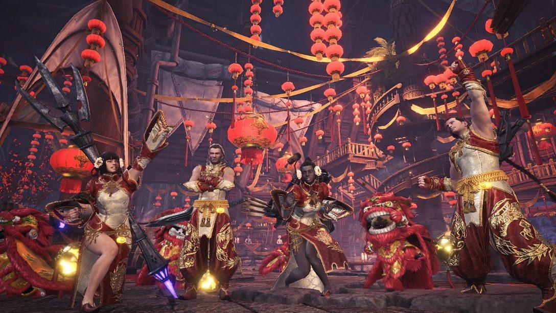 Comemore as Festas em Monster Hunter World Até o Dia 5 de Janeiro
