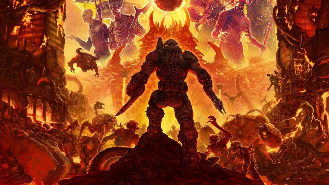 Como Doom Eternal Tenta Ser uma Continuação Maior e Melhor