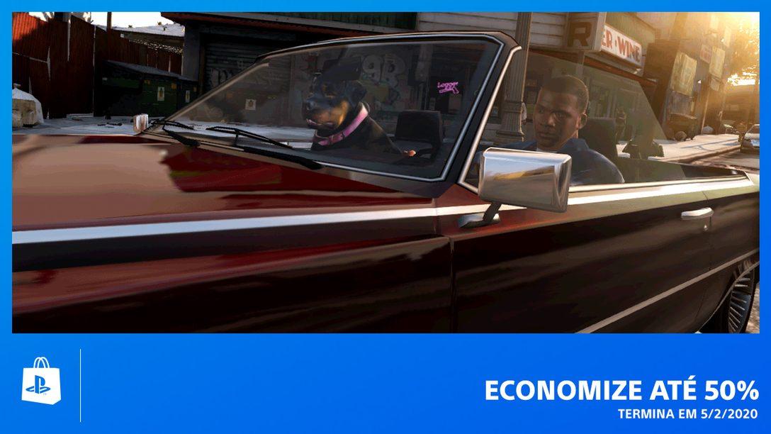 Conheça a Promoção Economize Até 50% da PS Store