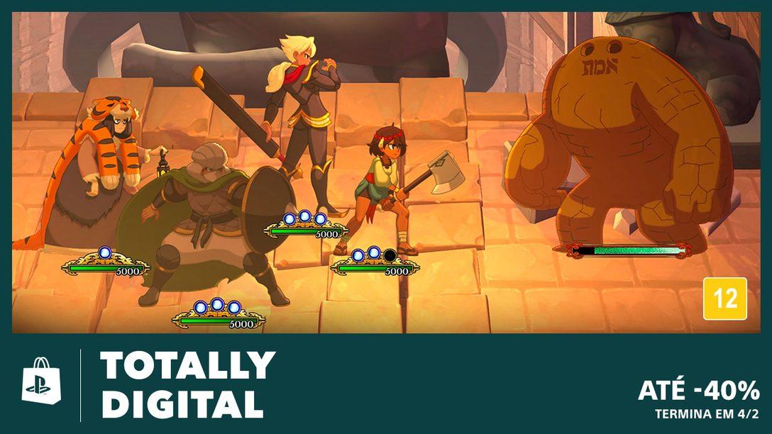 A Promoção Totally Digital da PS Store Começou!