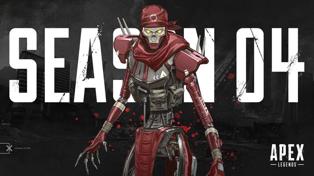 A Temporada 4 de Apex Legends Começa Próxima Terça: Novo Personagem, Arma e Mais Detalhes