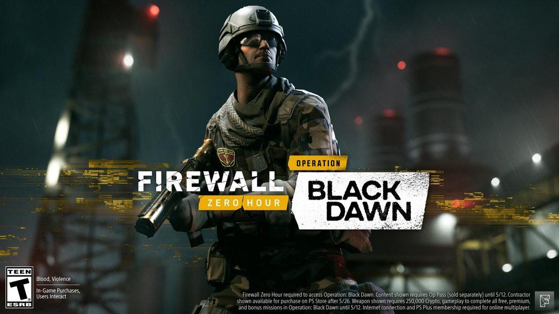 Hoje: A Nova Season de Firewall Zero Hour – Operation: Black Dawn