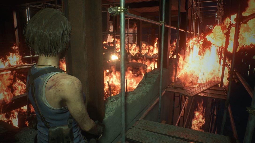Ação Intensa Eleva o Terror de Resident Evil 3 Remake