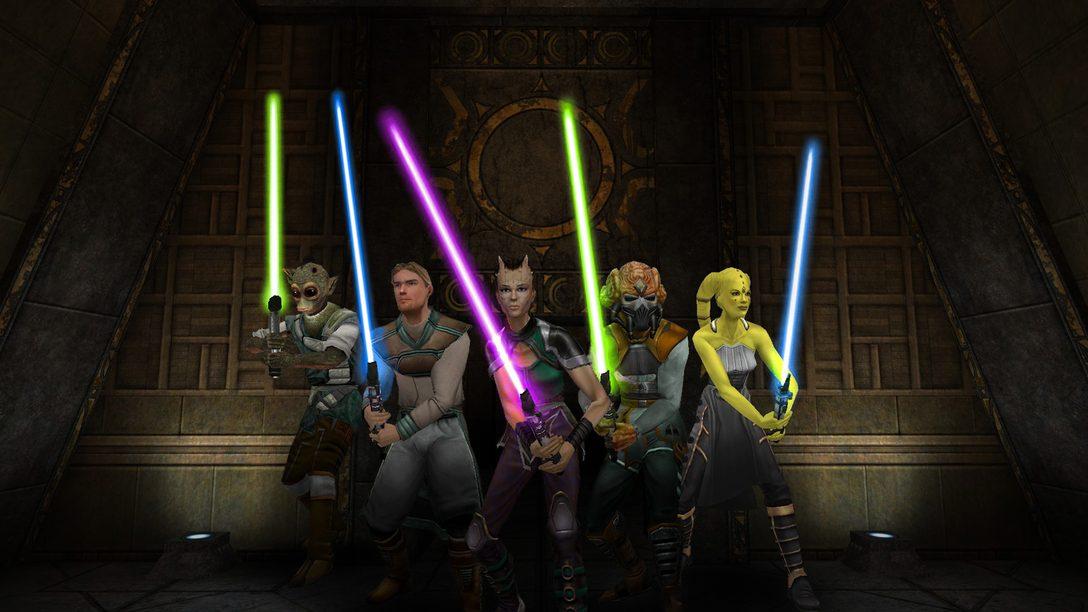 Star Wars Jedi Knight: Jedi Academy Chega Hoje para PS4