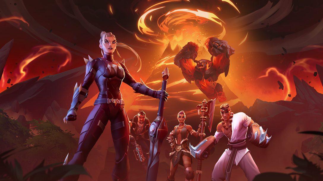 A Atualização de Conteúdo Gratuita Scorched Earth, de Dauntless, Chega Dia 19 de Março