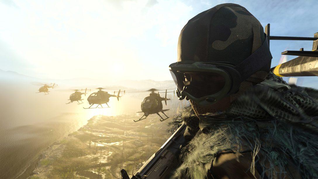 Jogue Call of Duty: Warzone Gratuitamente a Partir de 10 de Março