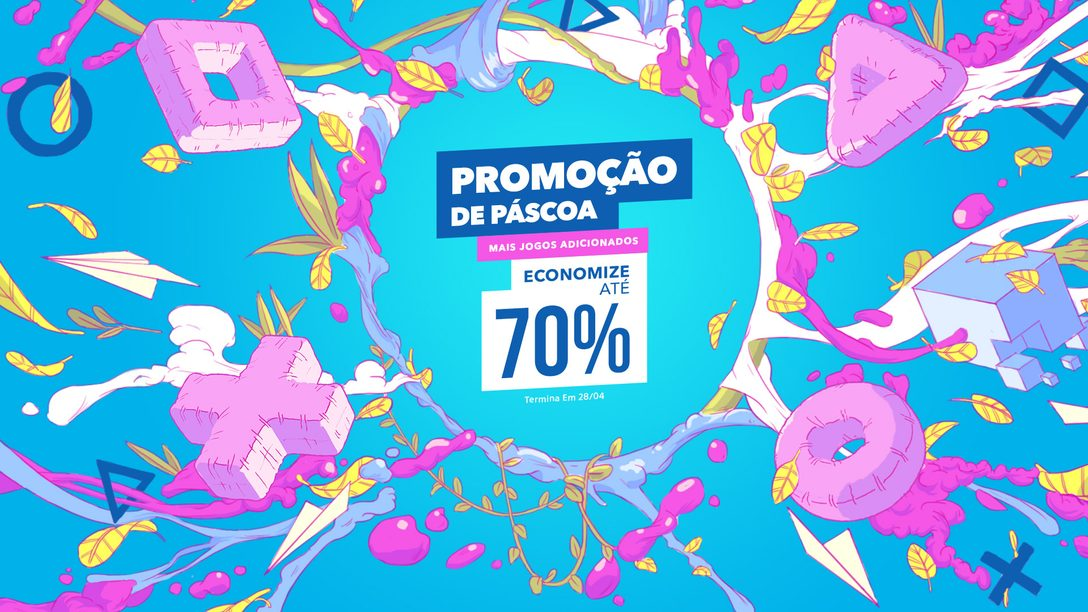 A Partir de Amanhã, A Promoção de Páscoa Alegra a PS Store