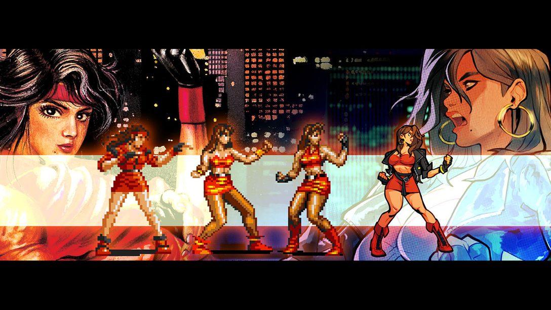 Como a Lizardcube Recriou os Personagens de Streets of Rage 4, Disponível para PS4 em 30 de Abril