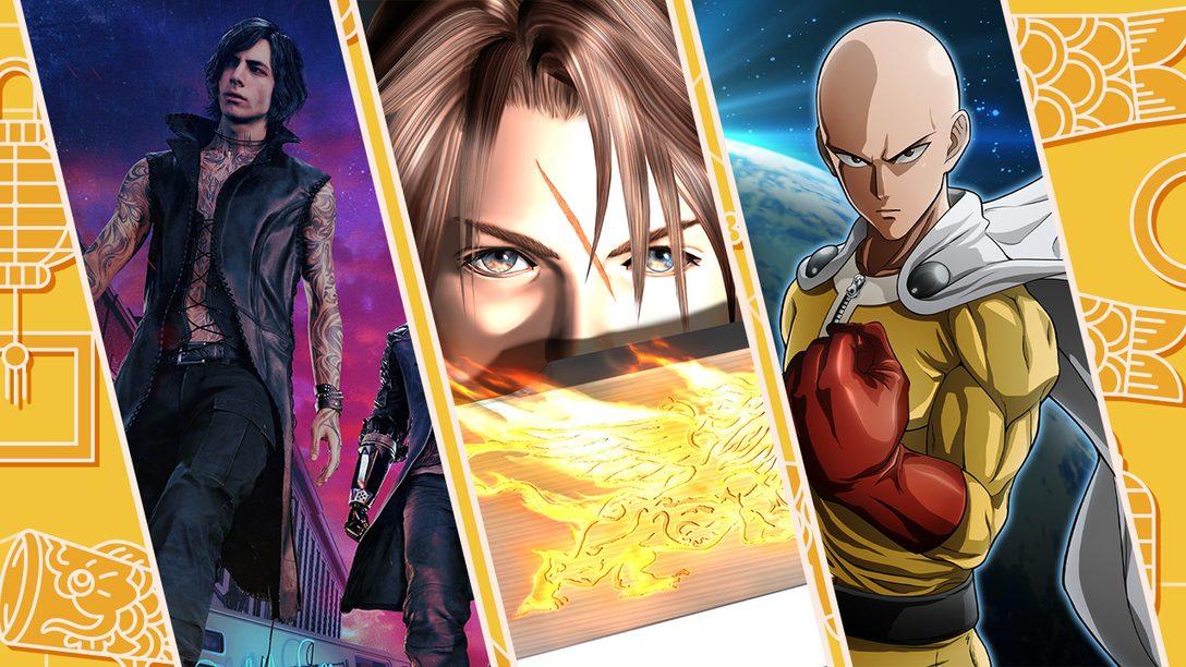 A Promoção Popular no Japão da PlayStation Store Começa Amanhã