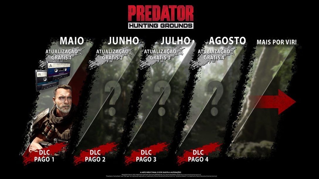 Dutch Volta para a Selva em Predator: Hunting Grounds