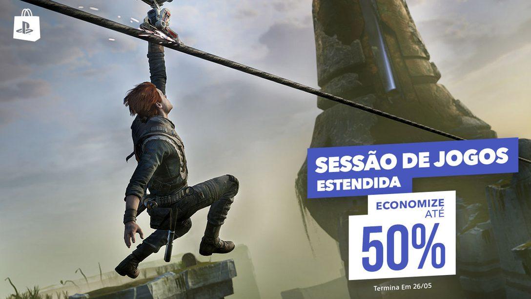 Star Wars Jedi: Fallen Order, Assassin's Creed Odyssey e mais, na Promoção Sessão de Jogos Estendida da PS Store