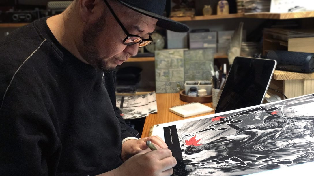 Apresentando a série especial de posters de Ghost of Tsushima
