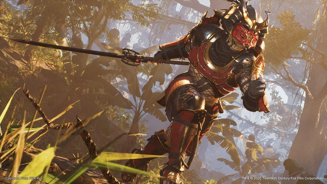 O Predador Samurai Chega em Predator: Hunting Grounds
