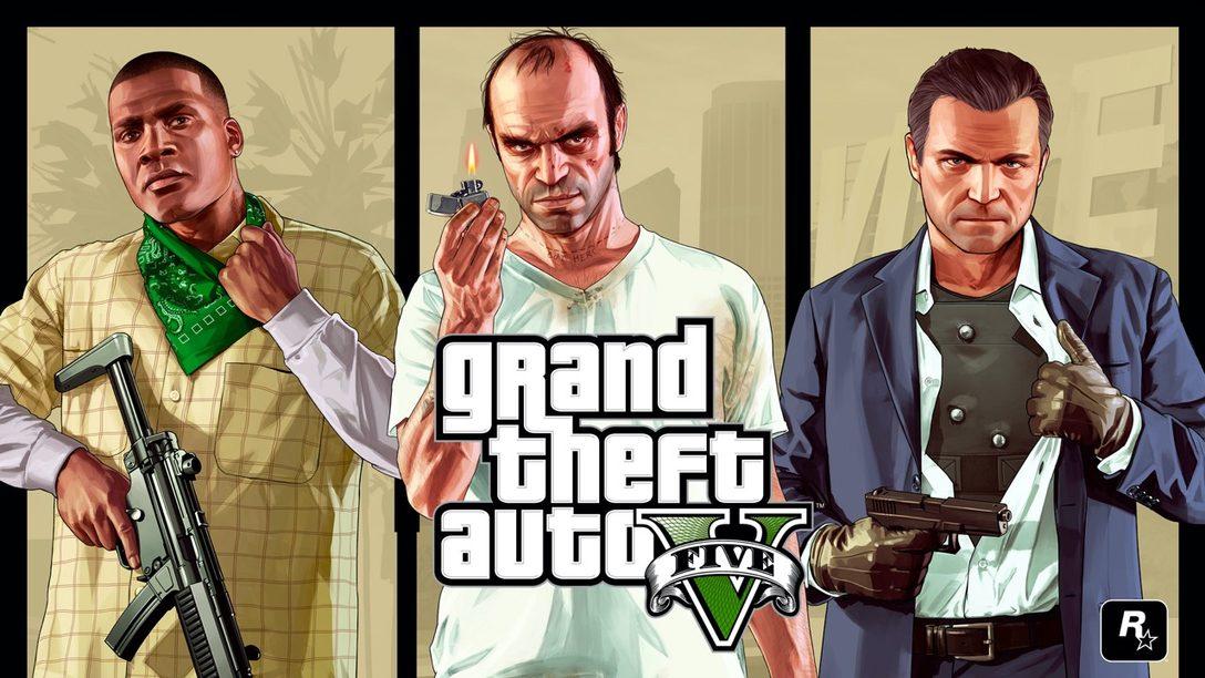 Grand Theft Auto V está chegando ao PlayStation 5 em 2021