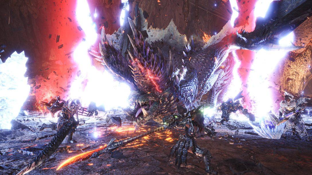 Alatreon traz uma tempestade de elementos até Monster Hunter World: Iceborne dia 8 de julho