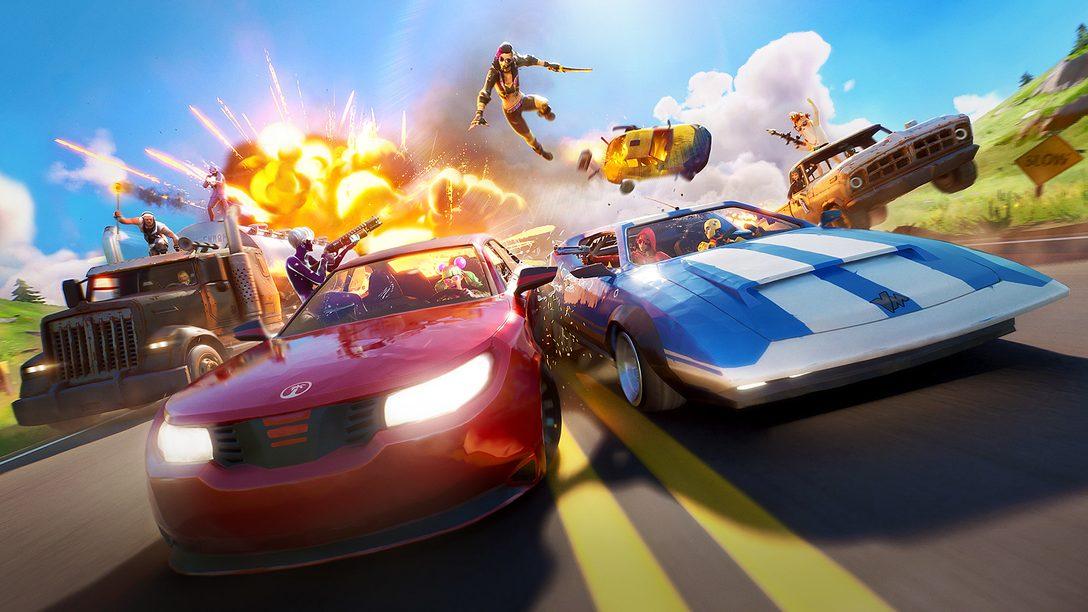 Apertem os cintos, a atualização Joy Ride de Fortnite chega hoje para PS4