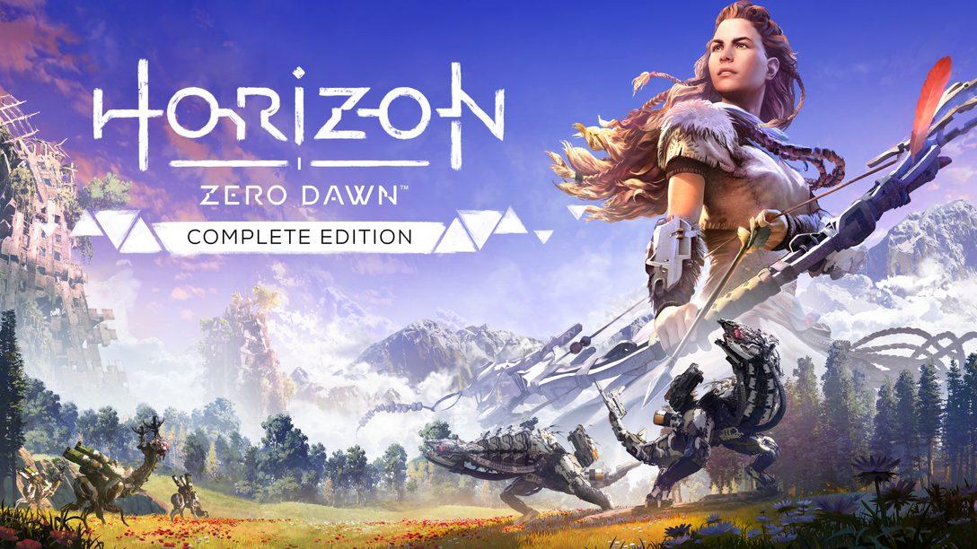 Horizon Zero Dawn Complete Edition chega hoje para PC
