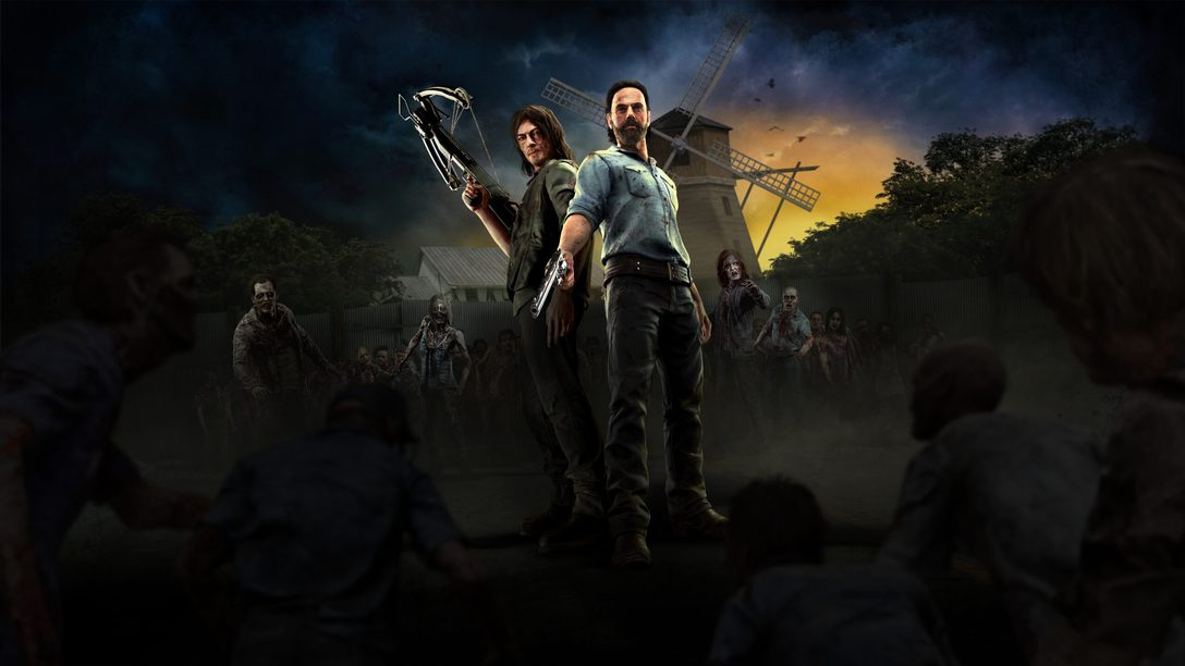The Walking Dead Onslaught chega para PS VR dia 29 de setembro