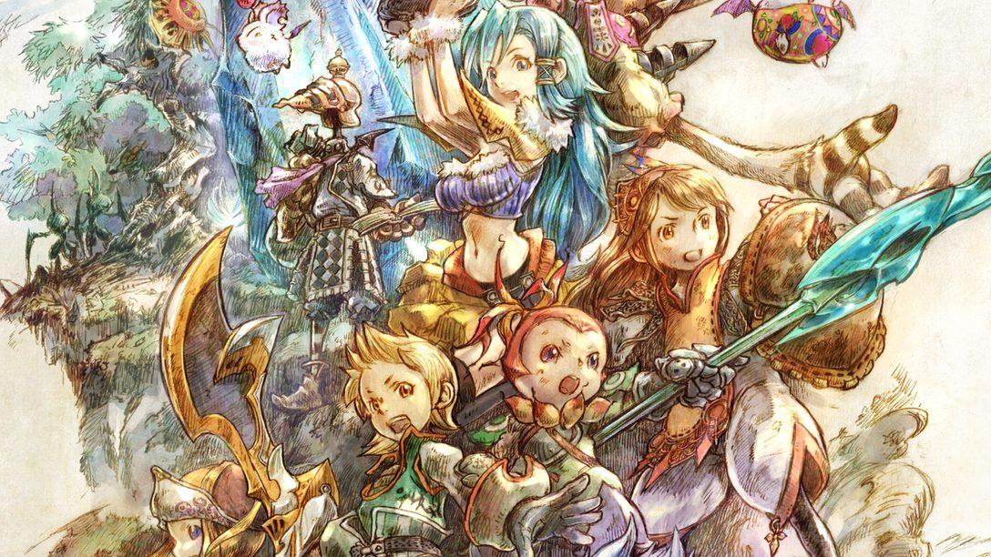 Um tour guiado pela bela arte conceitual de Final Fantasy Crystal Chronicles Remastered Edition