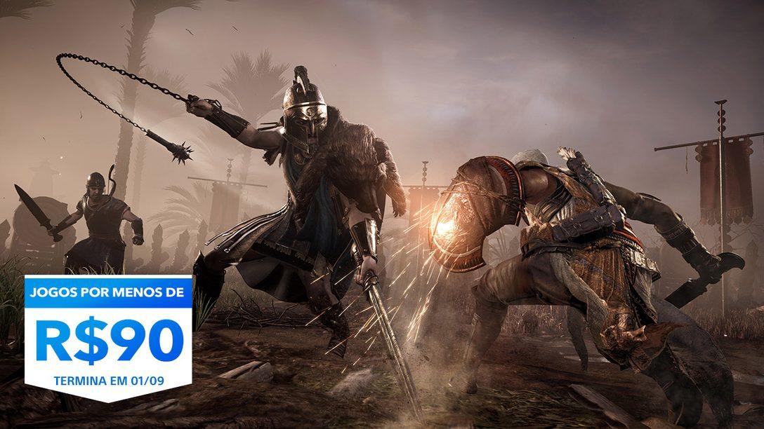 A Promoção Jogos Por Menos De R$90 da PlayStation Store já está no ar