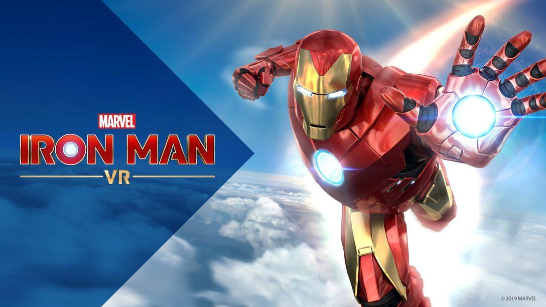 Atualização gratuita de Marvel's Iron Man VR com modo Novo Jogo+ disponível hoje