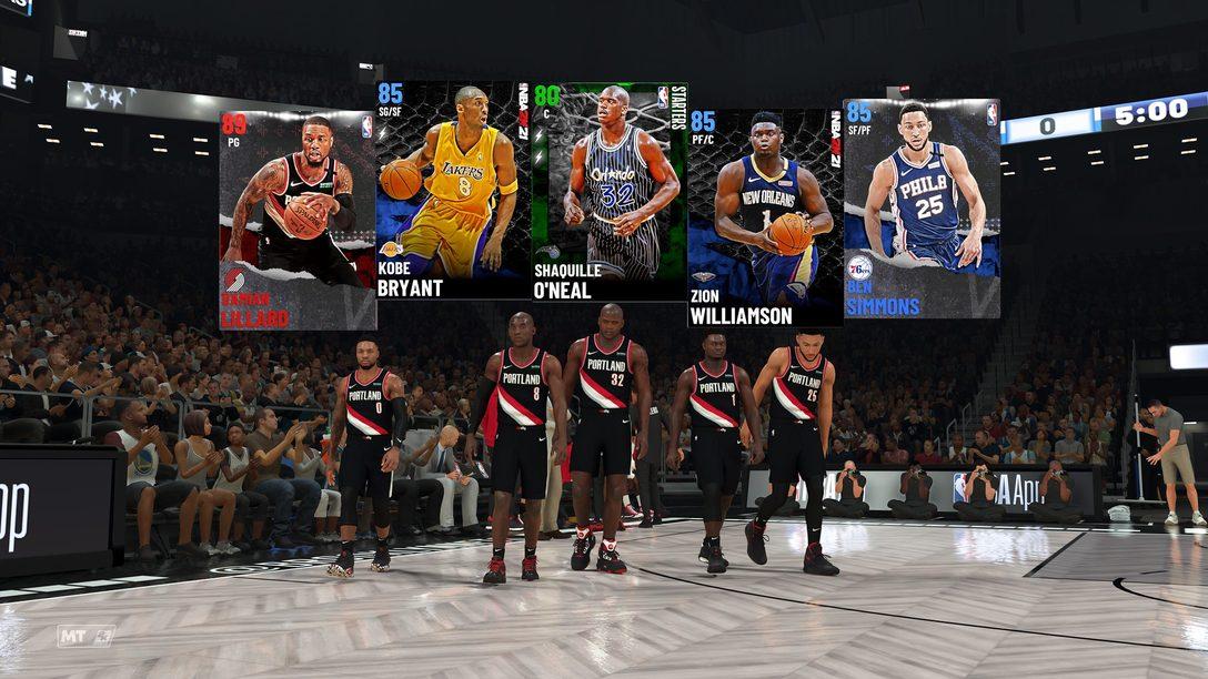 A nova experiência MyTeam de NBA 2K21