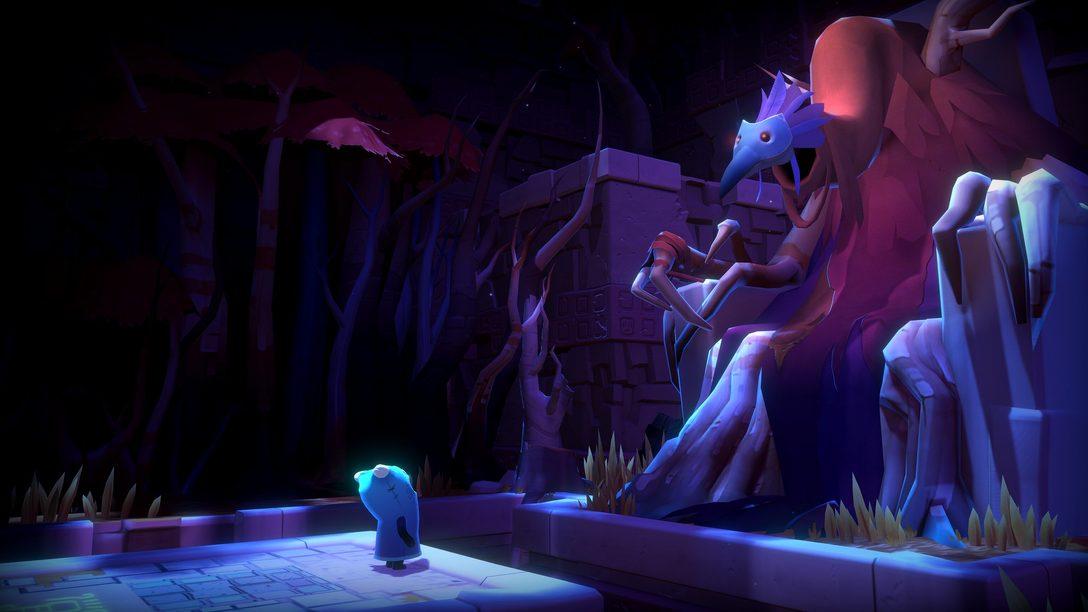 Navegue no mundo cheio de puzzles de The Last Campfire, disponível amanhã para PS4