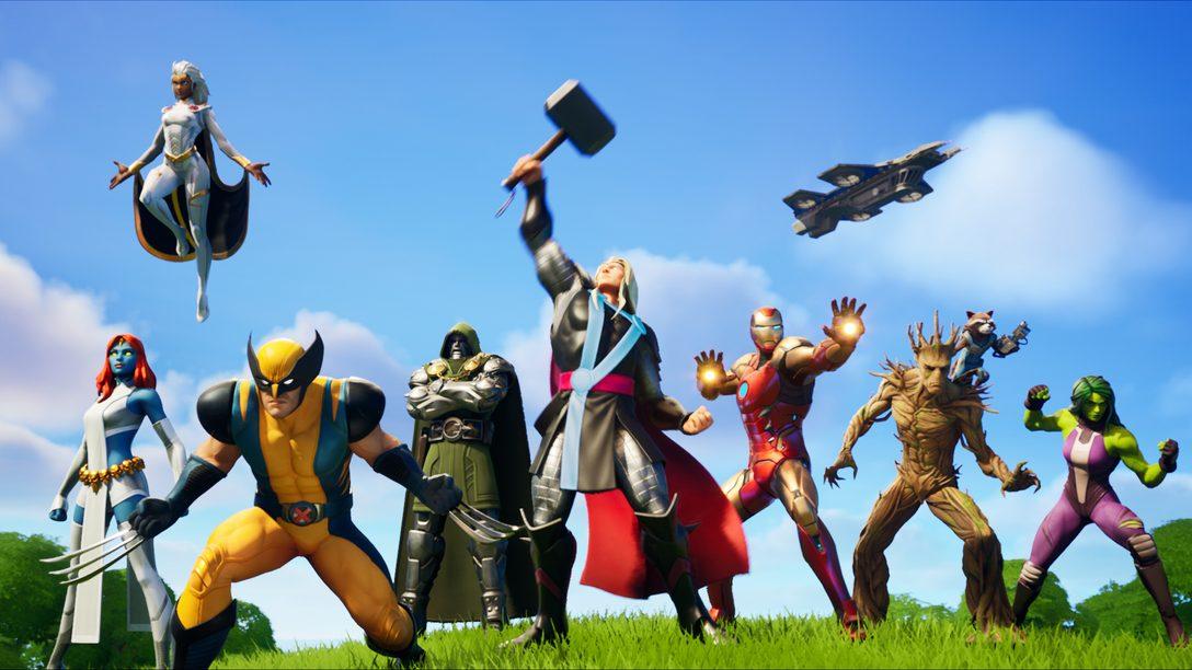 Torne-se um super herói e salve a realidade em Fortnite Chapter 2 – Season 4