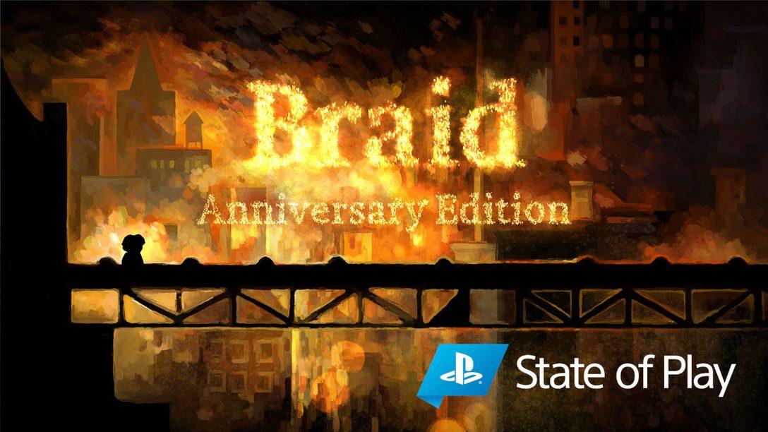 Anunciamos Braid, Anniversary Edition para PS4 e PS5