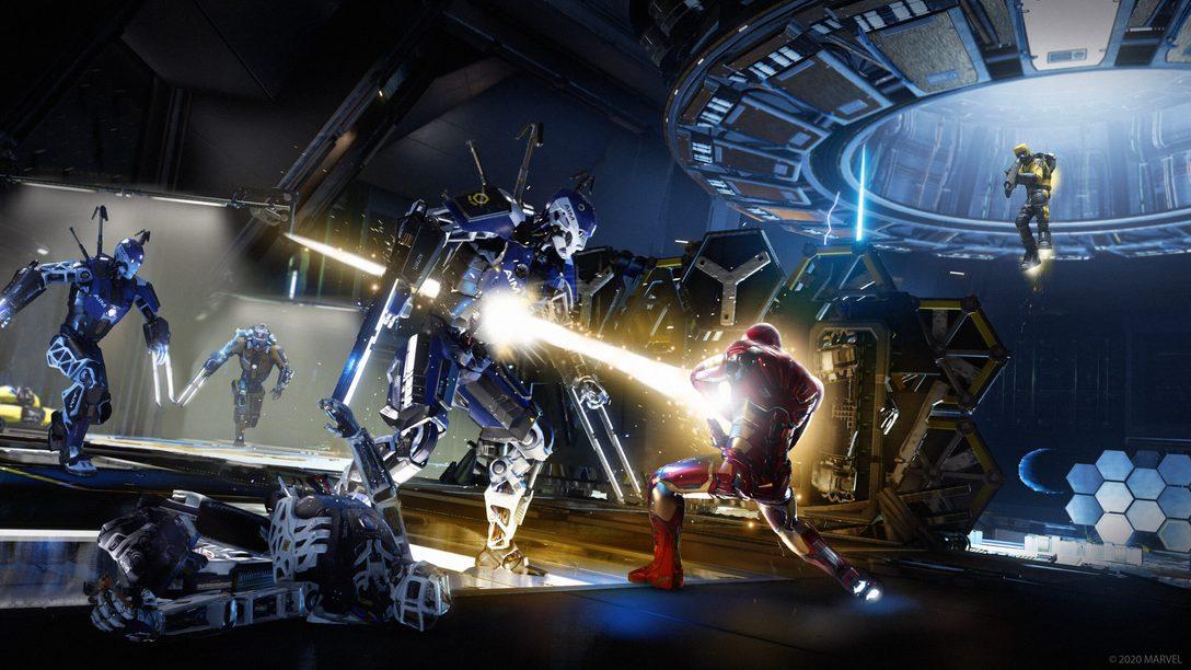 Trabalhem juntos e em estilo com os Community Challenges e cosméticos de Marvel's Avengers