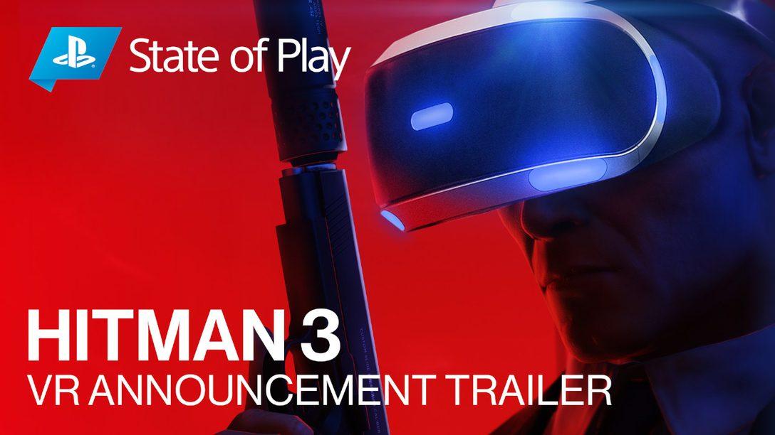 HITMAN 3 adiciona suporte para RV para o lançamento em janeiro de 2021
