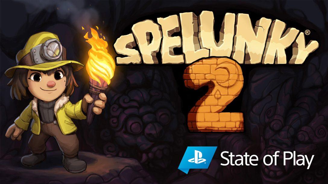 Spelunky 2 chega para PS4 no dia 15 de setembro