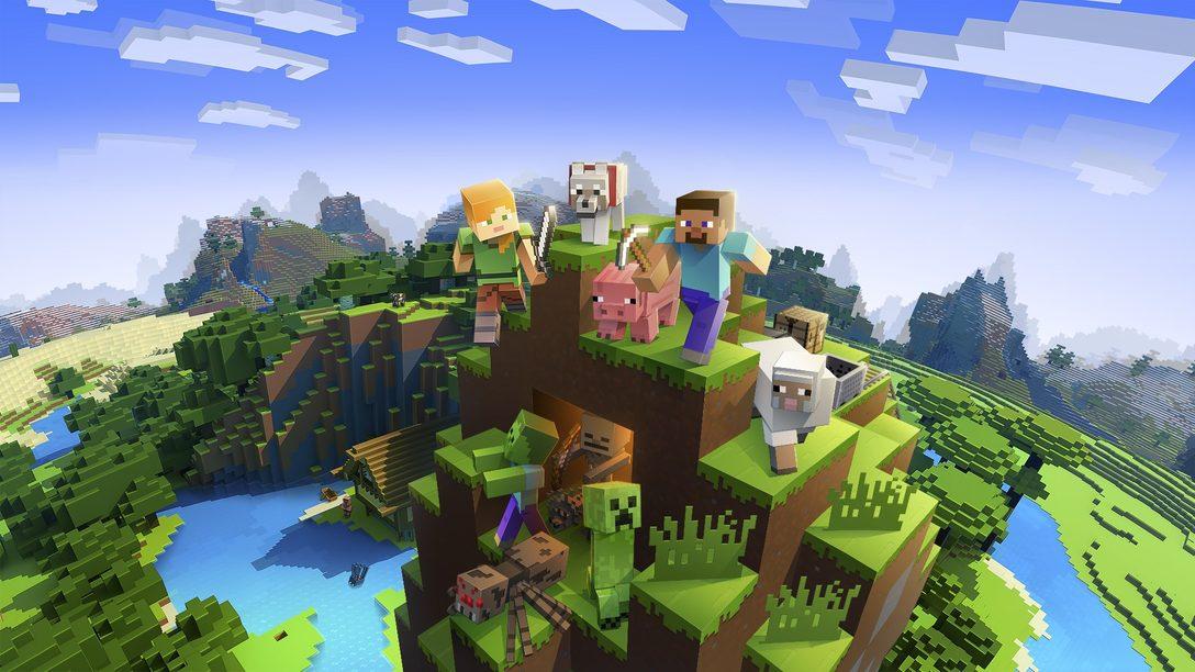 Minecraft ganha suporte para PS VR ainda este mês