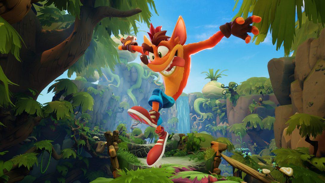 Demo de Crash Bandicoot 4: It's About Time chega hoje na PS Store