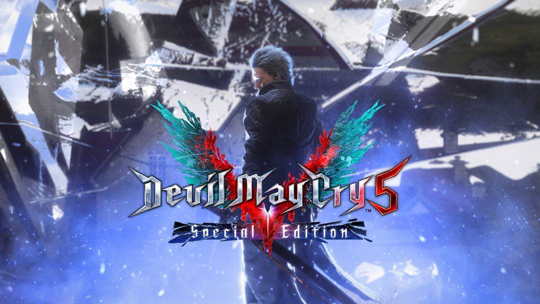 Devil May Cry 5 Special Edition abre o caminho na base da espada até o  PlayStation 5 – PlayStation.Blog BR