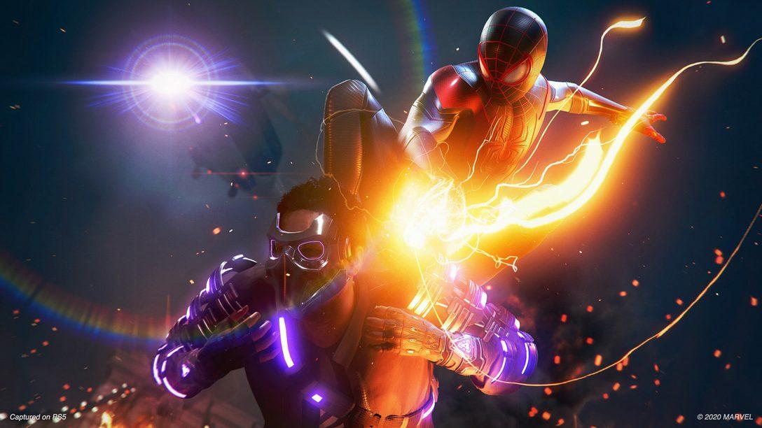 Confira o novo vídeo de gameplay de Marvel's Spider-Man: Miles Morales